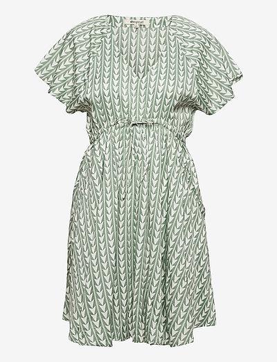 GEO DRESS - sommerkjoler - green