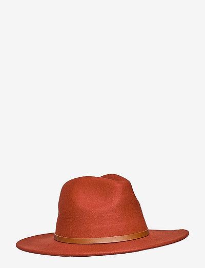 SIERRA WOOL PANAMA - hatte - sun rust
