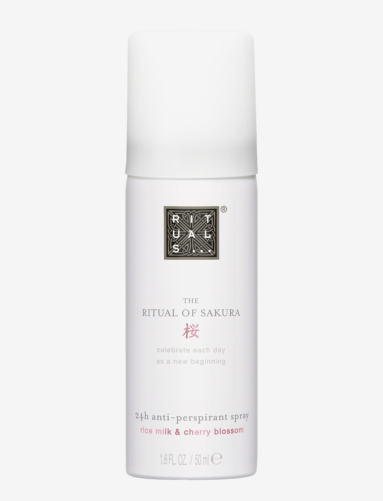 Rituals - The Ritual of Sakura Anti-Perspirant Spray 50ml - deospray - clear - 0