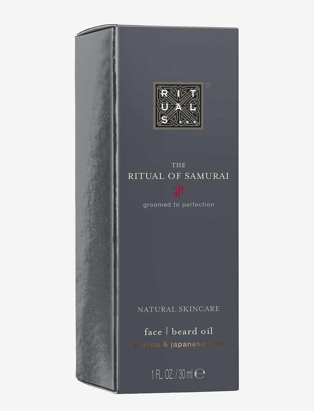 Rituals - The Ritual of Samurai Beard Oil - skægolie - no color - 1