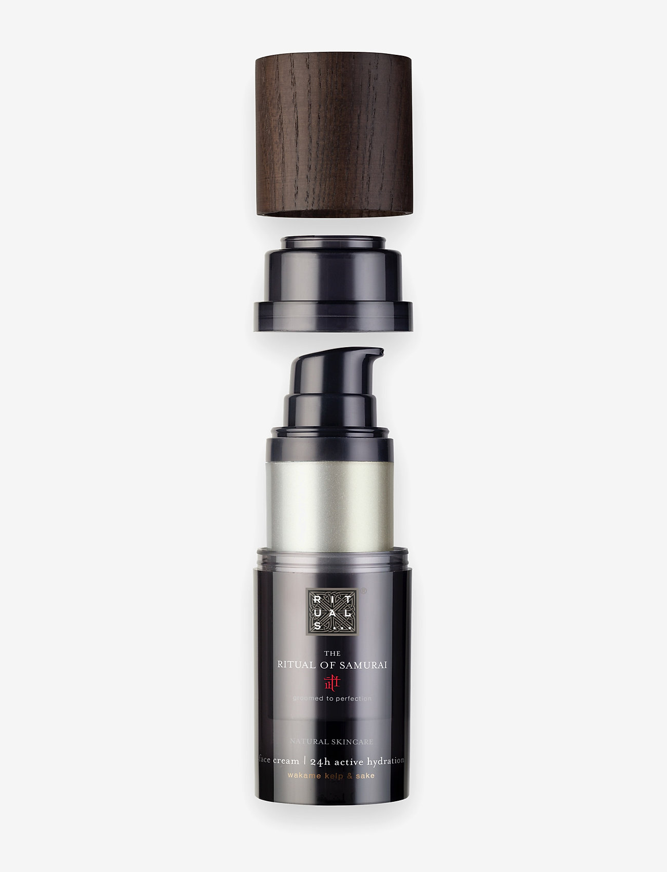 Rituals - The Ritual of Samurai Face Cream 24h Active Hydration Refill - kosteusvoiteet - clear - 0