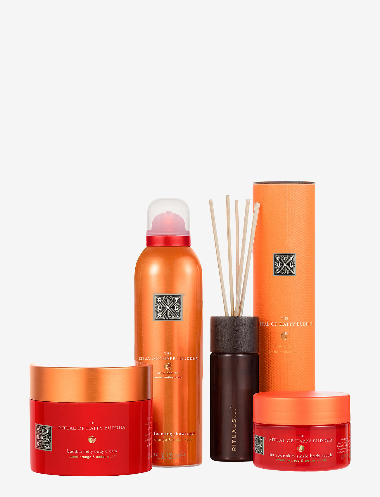 Rituals - The Ritual of Happy Buddha - Energising Collection - kroppsvårdsset - no colour - 1