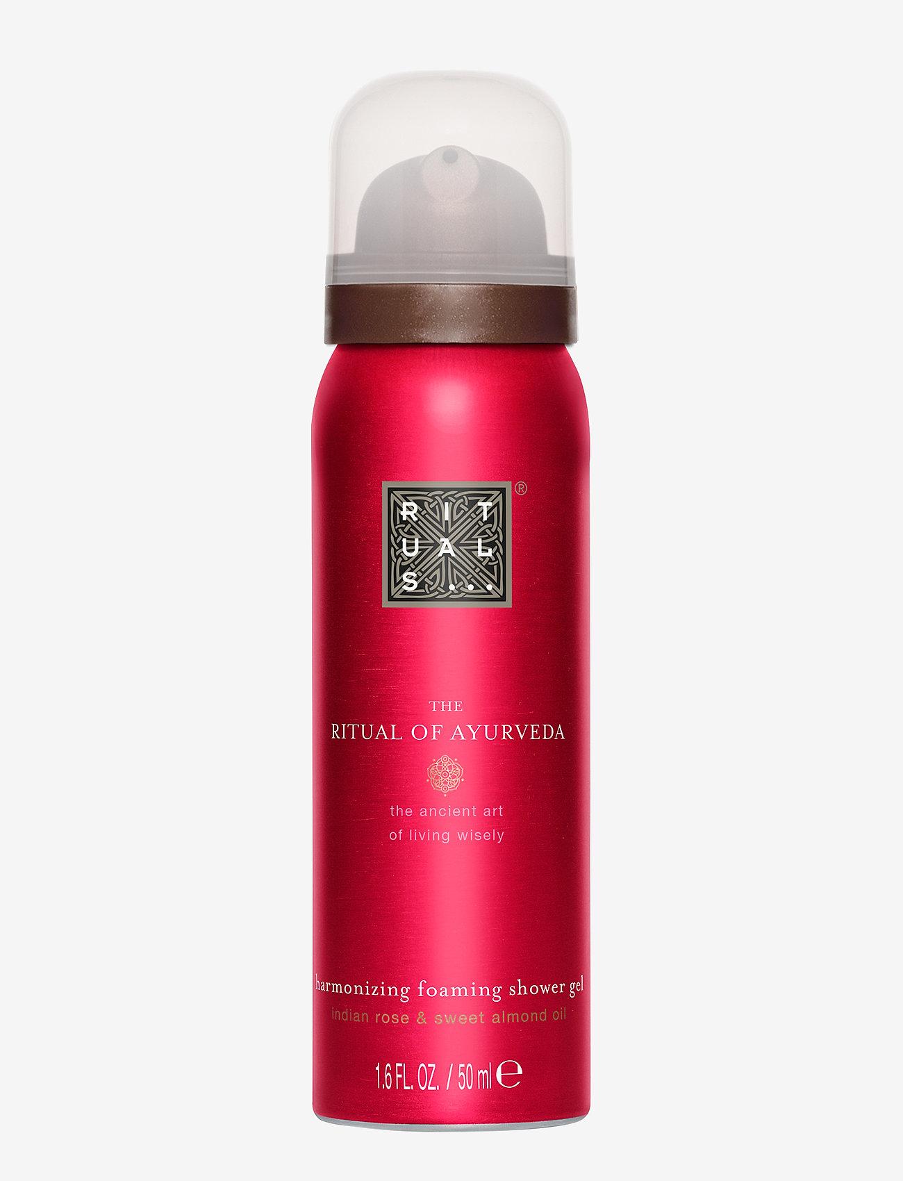 Rituals - The Ritual of Ayurveda Foaming Shower Gel 50ml - suihku & kylpy - clear - 0
