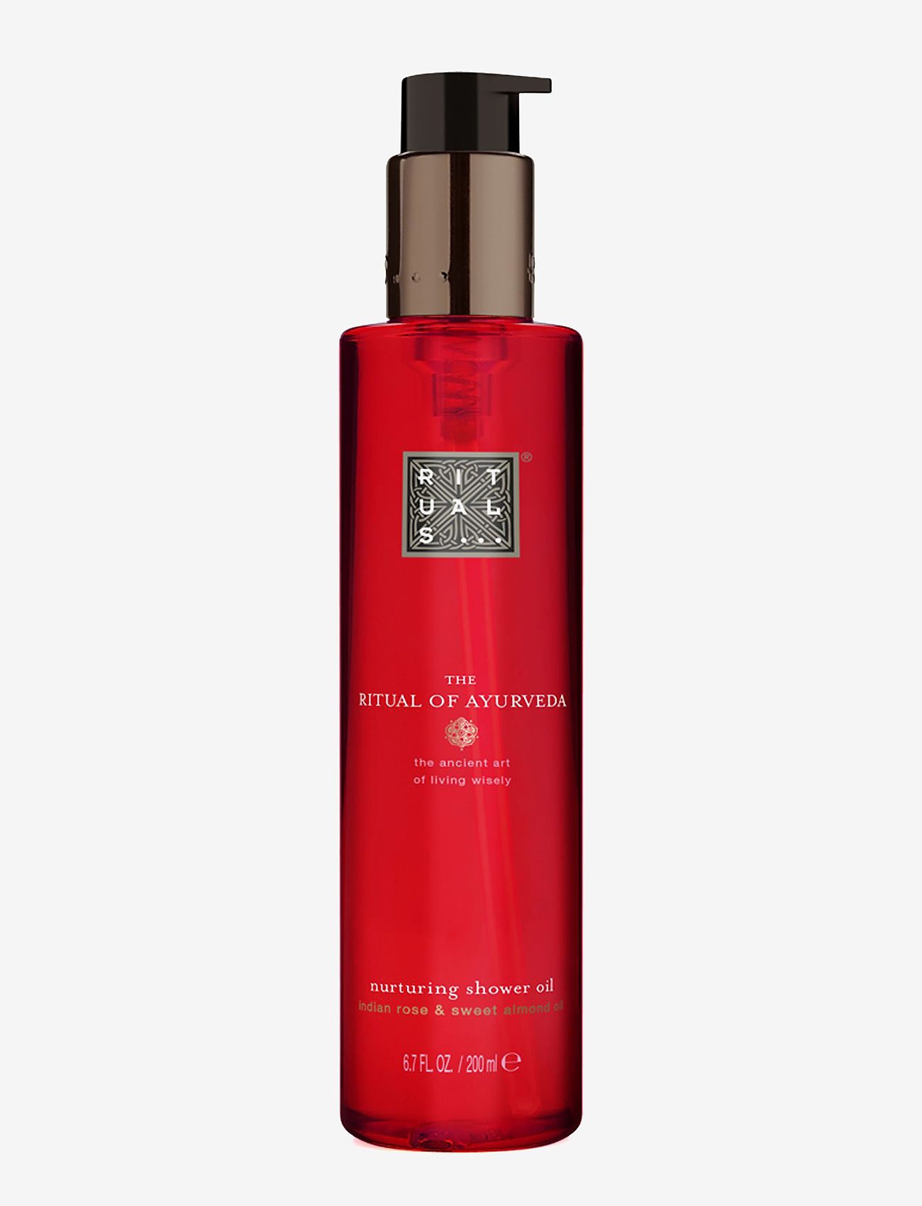 Rituals - The Ritual of Ayurveda Shower Oil - shower gel - clear - 0