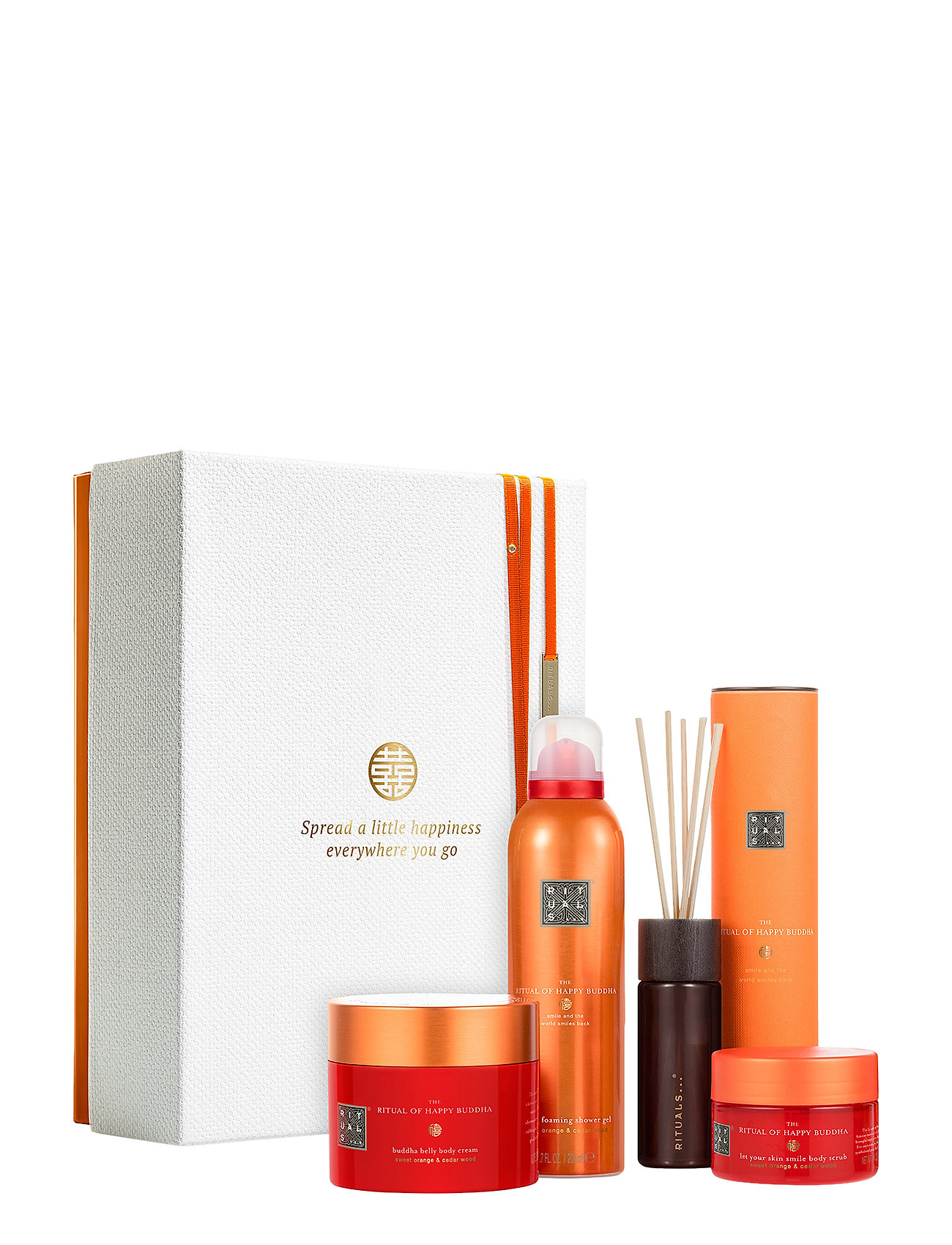Image of The Ritual Of Happy Buddha - Energising Collection Sæt Bath & Body Rituals (3255928697)