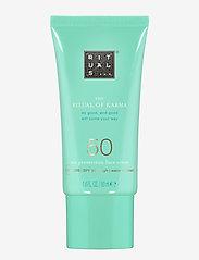 Rituals - The Ritual of Karma Sun Protection Face Cream 50 - ansikt - clear - 0