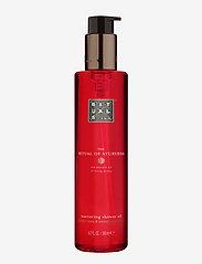 Rituals - The Ritual of Ayurveda Shower Oil - suihku & kylpy - clear - 0
