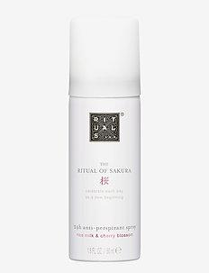 The Ritual of Sakura Anti-Perspirant Spray 50ml - deospray - clear