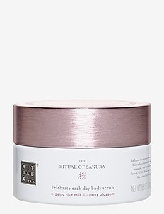 The Ritual of Sakura Body Scrub - NO COLOUR