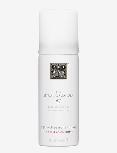 The Ritual of Sakura Anti-Perspirant Spray 50ml - deospray - clear