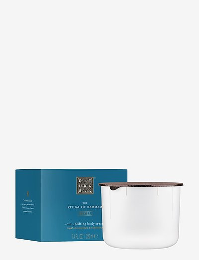 The Ritual of Hammam Body Cream Refill - body cream - clear