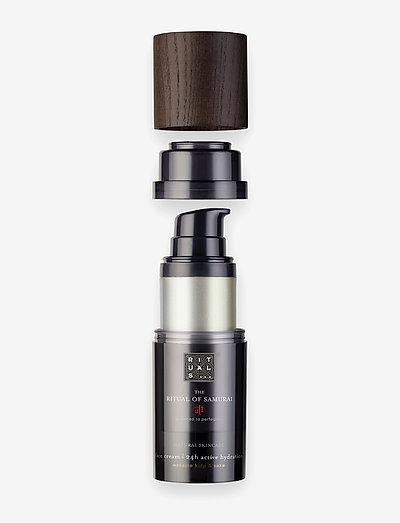 The Ritual of Samurai Face Cream 24h Active Hydration Refill - kosteusvoiteet - clear