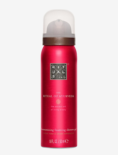 The Ritual of Ayurveda Foaming Shower Gel 50ml - bad & dusch - clear
