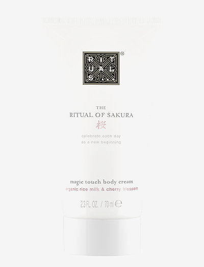 The Ritual of Sakura Body Cream 70ml - body cream - clear