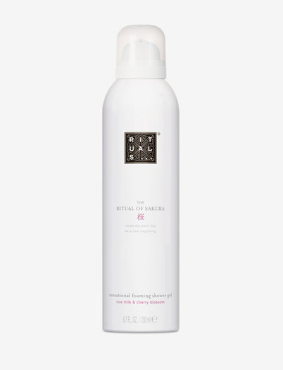 The Ritual of Sakura Foaming Shower Gel - bad & dusj - no color