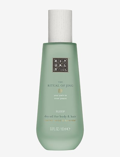 The Ritual of Jing Dry Oil - kroppsolja - clear