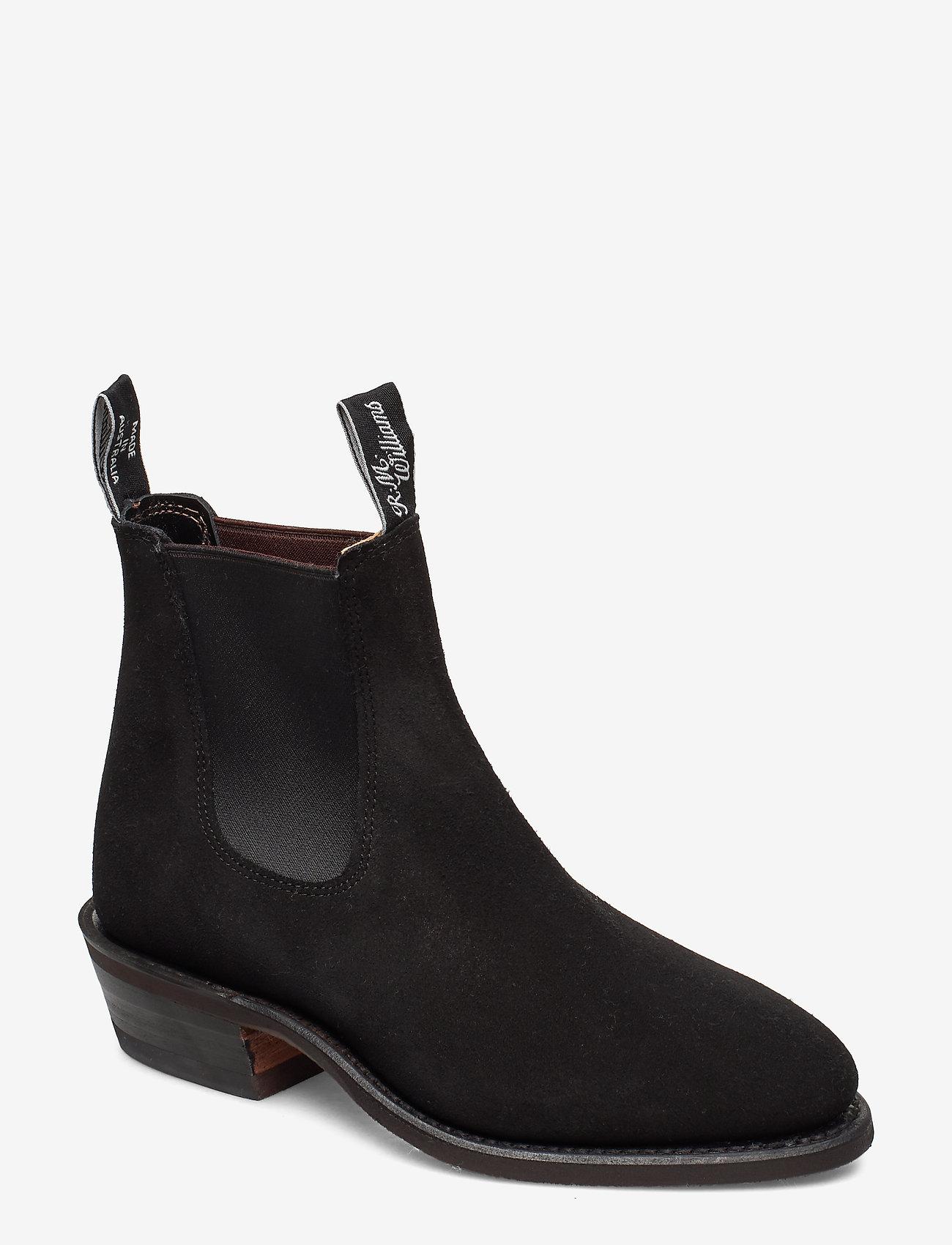 R.M. Williams - The Yearling G - ankelstøvler med hæl - black - 0