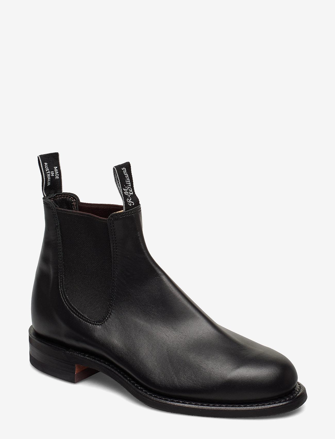 R.M. Williams - Wentworth G-last Yearling Black - støvler - black - 1