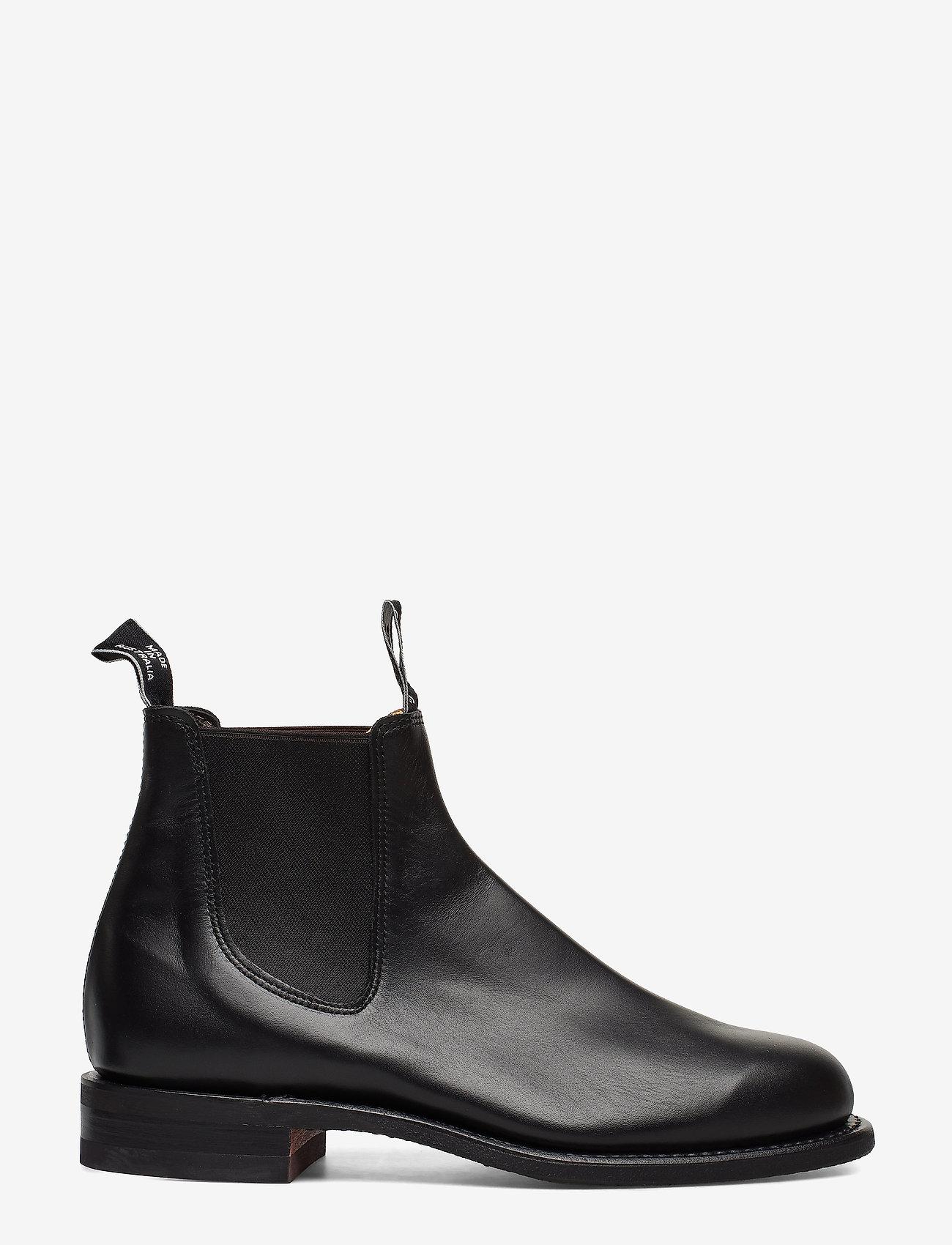 R.M. Williams - Wentworth G-last Yearling Black - støvler - black - 0