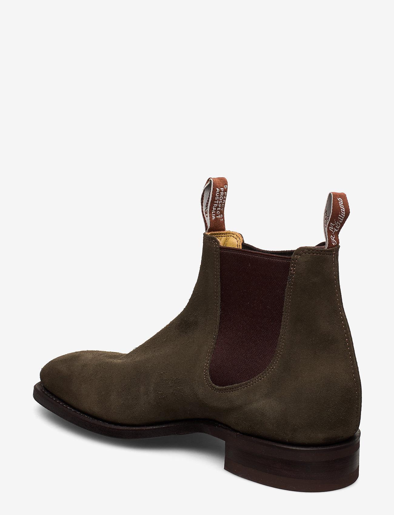 R.M. Williams - Blaxland G - chelsea boots - khaki 61 - 2