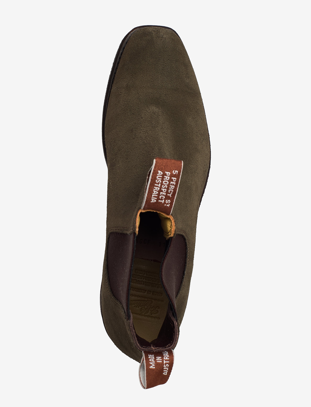 R.M. Williams - Blaxland G - chelsea boots - khaki 61 - 3
