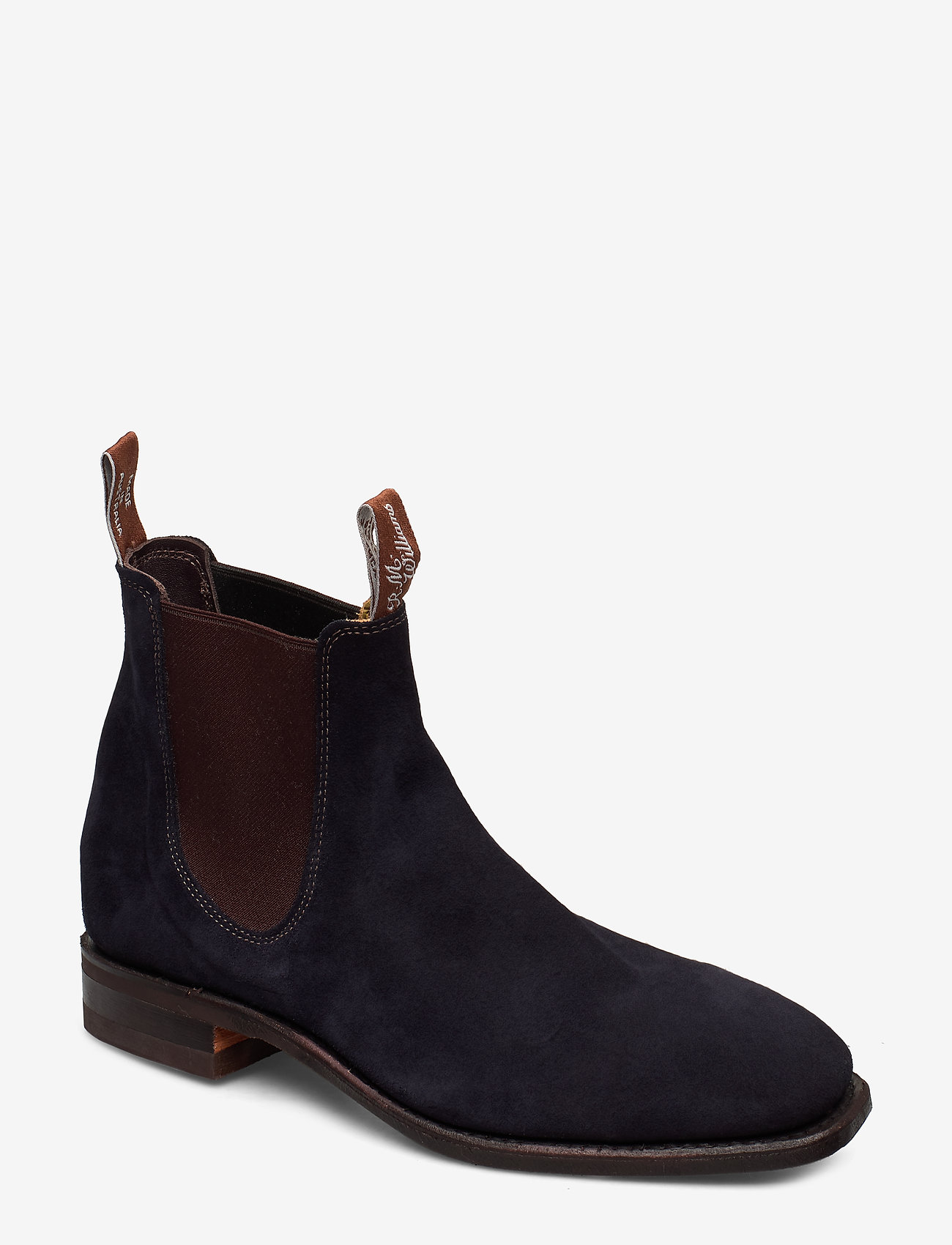 R.M. Williams - Blaxland G - chelsea boots - navy blue r9 - 0