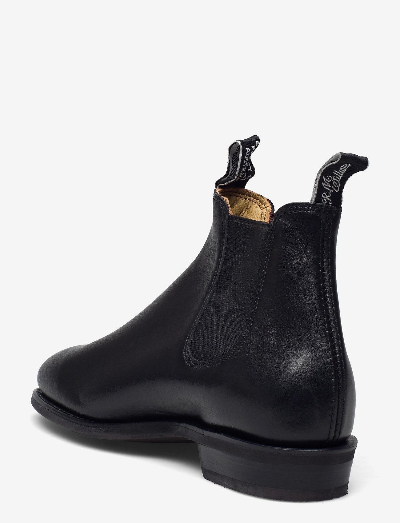 R.M. Williams - Adelaide D Yearling Black 6+ - schoenen - black - 2