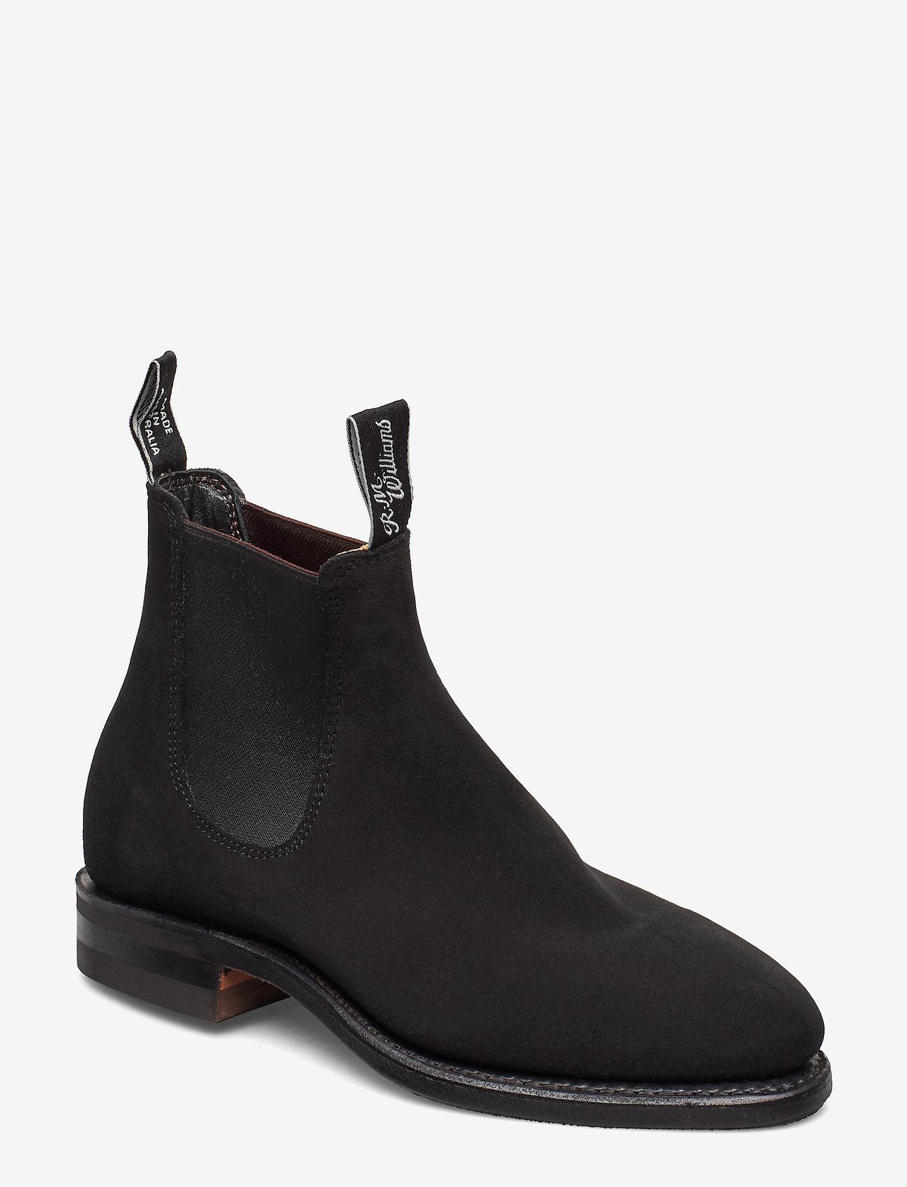 R.M. Williams - Macquaire - chelsea boots - black - 0