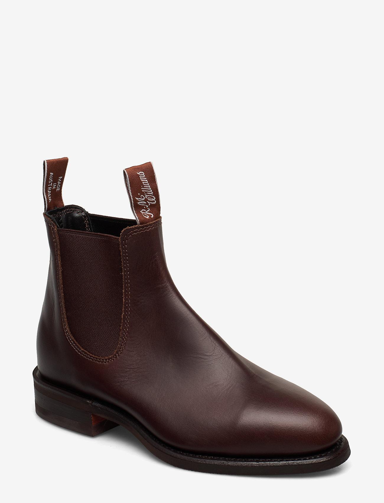R.M. Williams - Macquarie - chelsea boots - rum - 0