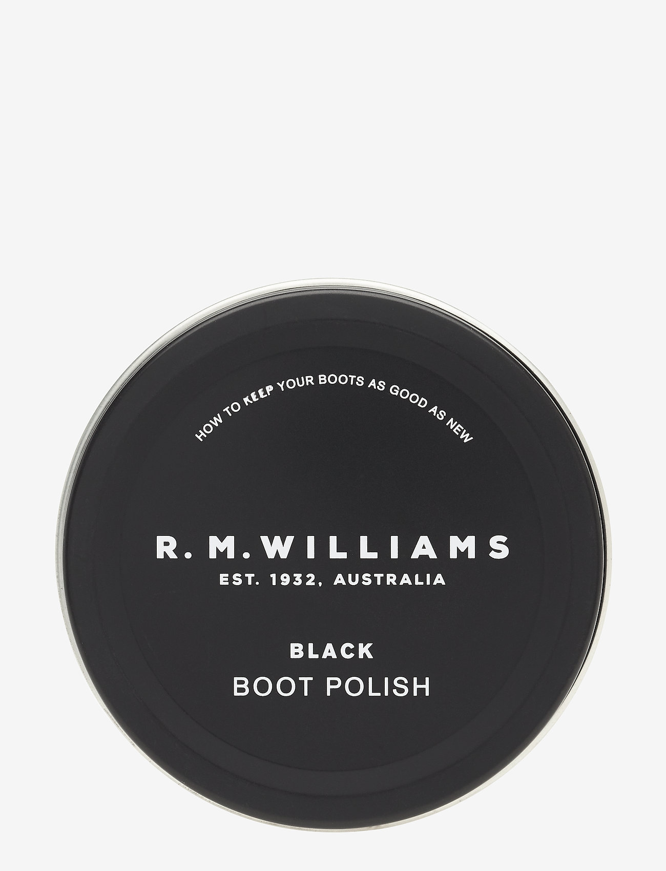 R.M. Williams - RM Stockman Polish - shoe protection - black - 0