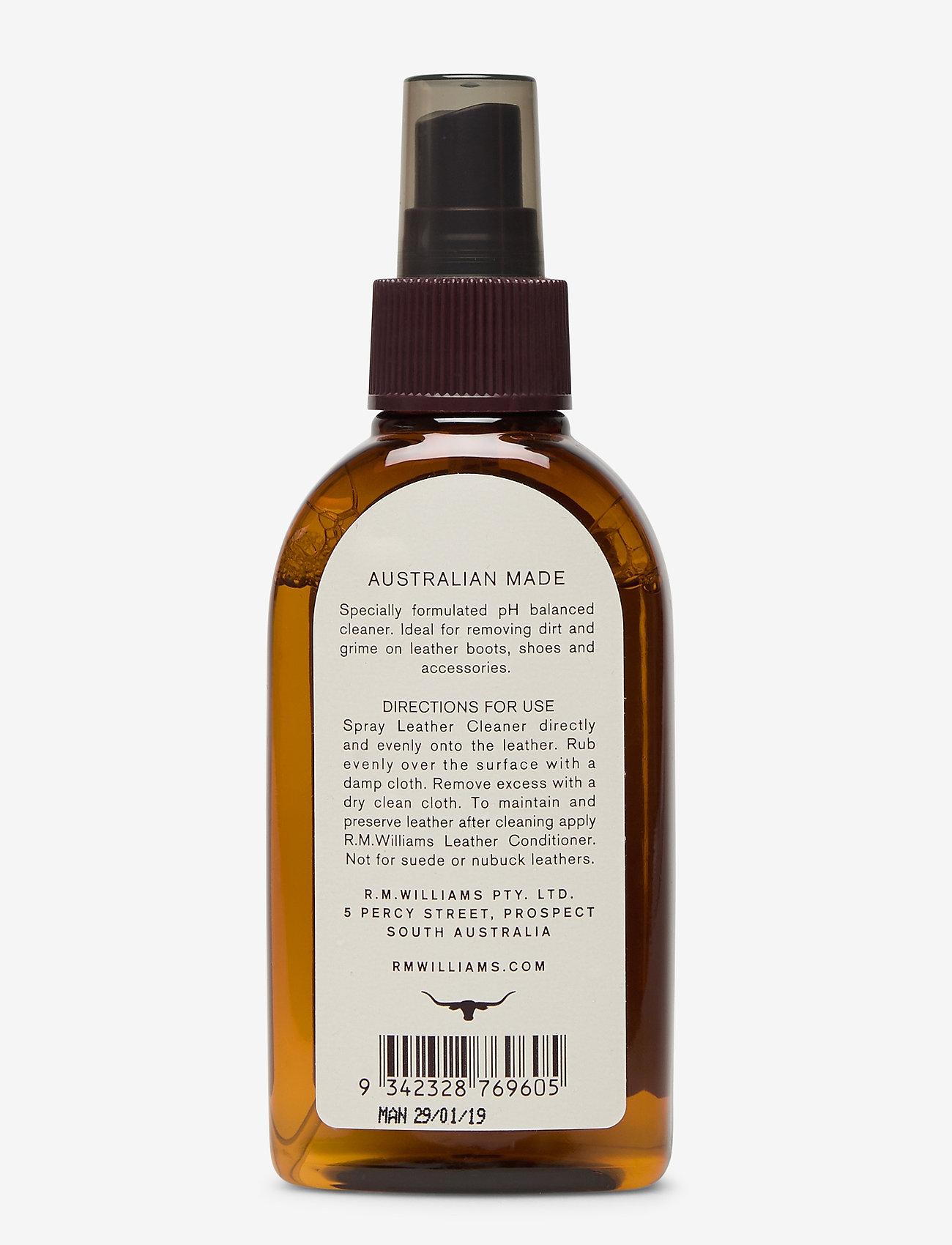 R.M. Williams - Leather Cleaner 100 ml - skobeskyttelse - no color - 1