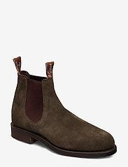 R.M. Williams - Gardener G - chelsea boots - khaki 61 - 0