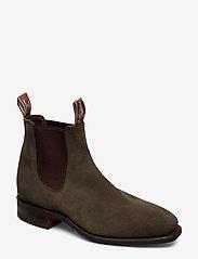 R.M. Williams - Blaxland G - chelsea boots - khaki 61 - 0