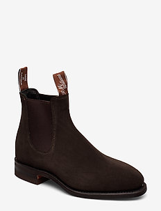 Macquarie G - chelsea boots - chocolate