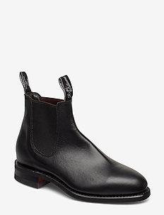 Macquaire - chelsea boots - black