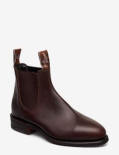 Macquarie - chelsea boots - rum