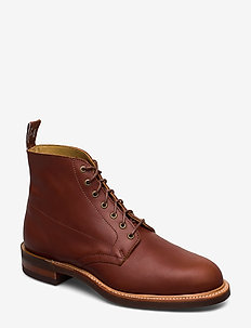 Rickaby G - laced boots - caramel y5