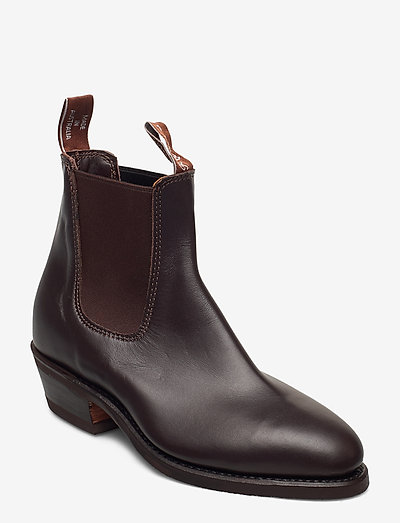 The Yearling G - heeled ankle boots - chestnut