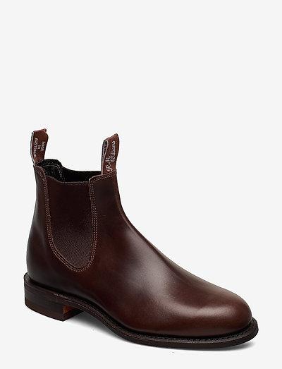Wentworth - boots - rum