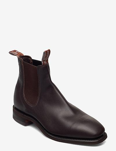 Blaxland - boots - chestnut