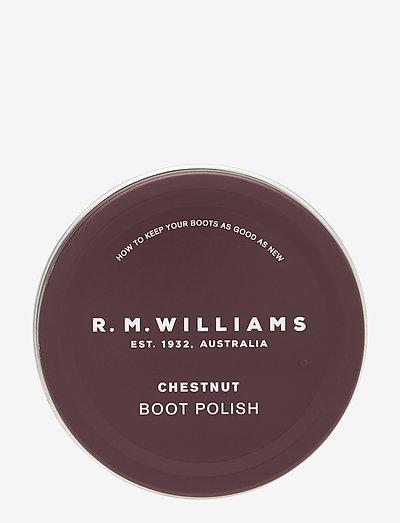 RM Stockman Polish - shoe protection - chestnut