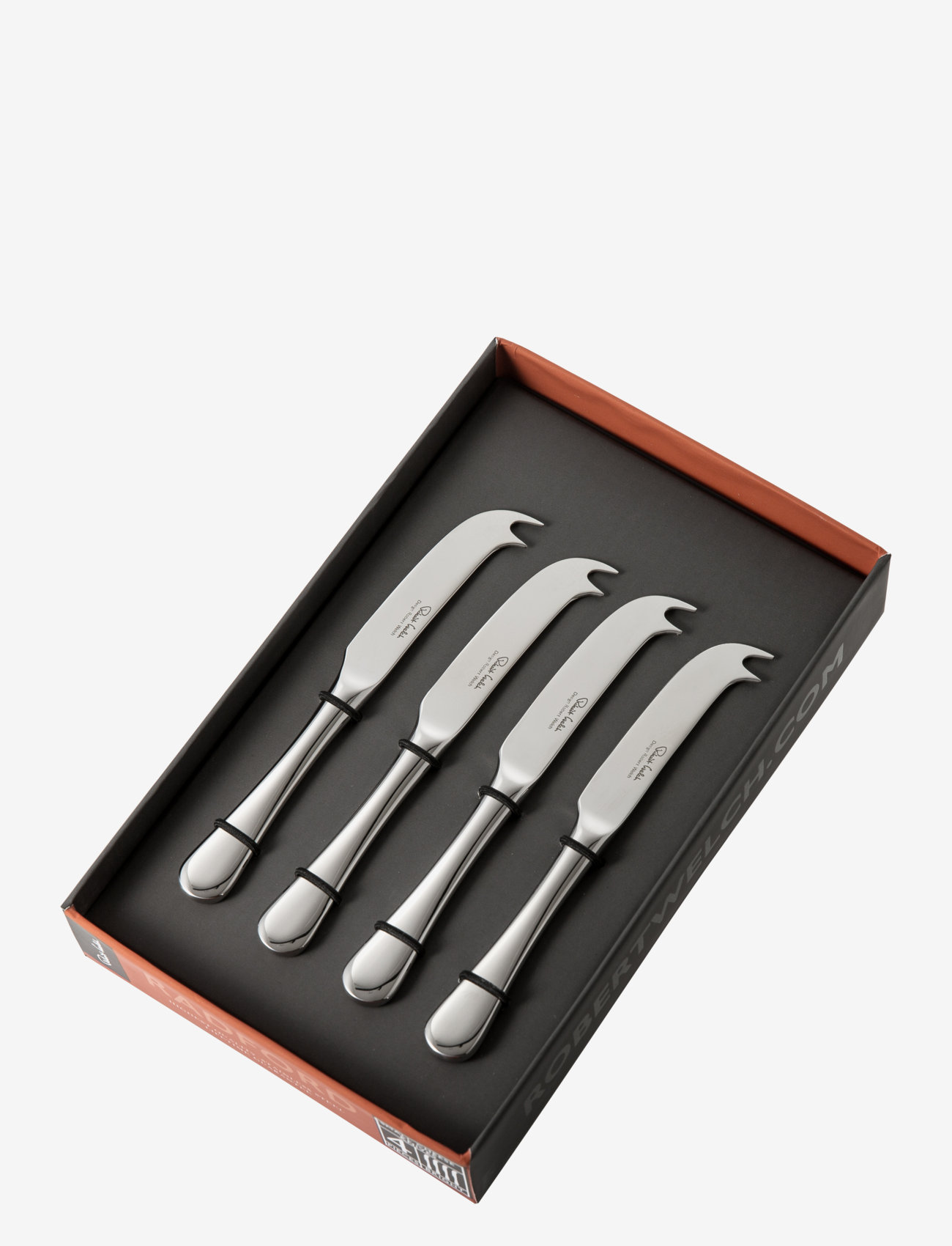 Robert Welch - Radford Bright Small Cheese Knife, Set of 4 - ostekniver - multi colour - 1