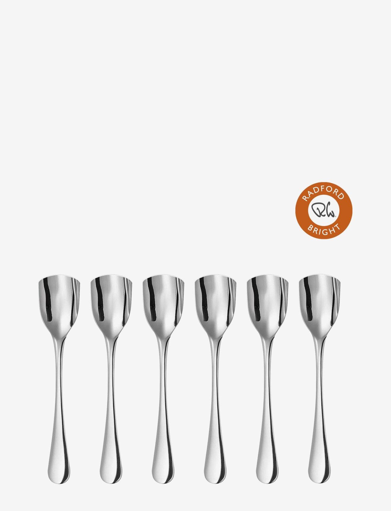 Robert Welch - Robert Welch Bright V Gelato Spoon Set 6P - teskjeer & kaffeskjeer - multi colour - 0