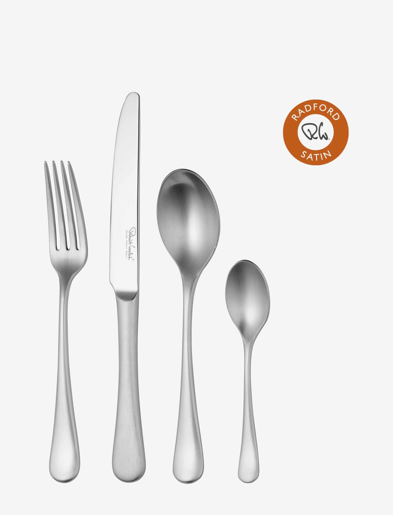 Robert Welch - Radford Satin Cutlery Set, 24 Piece for 6 People - bestikksett - multi colour - 0