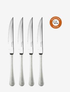 Radford Satin Steak Knife, Set of 4 - biffbestikk - multi colour