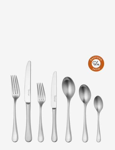 Radford Satin Cutlery Set, 84 Piece for 12 People - bestikksett - multi colour