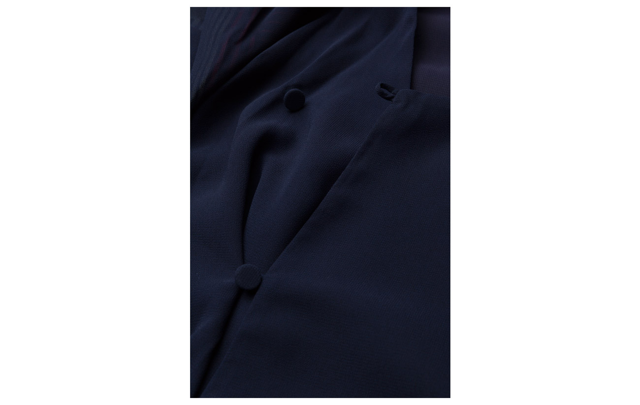 Navy Polyester Recyclé Rodebjer Sevana 100 5ZwZ0q4