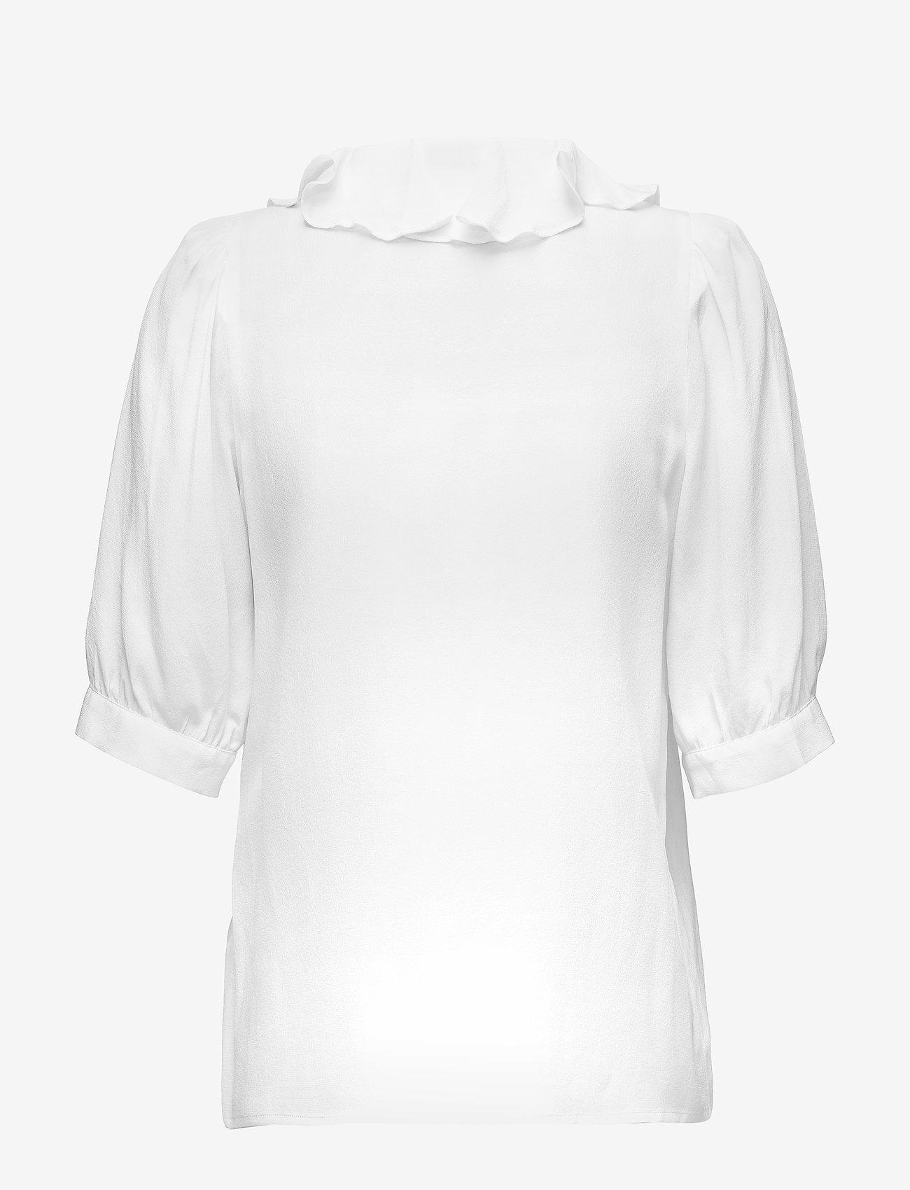RODEBJER - RODEBJER XILLA SILK - bluzki z krótkim rękawem - off white - 1