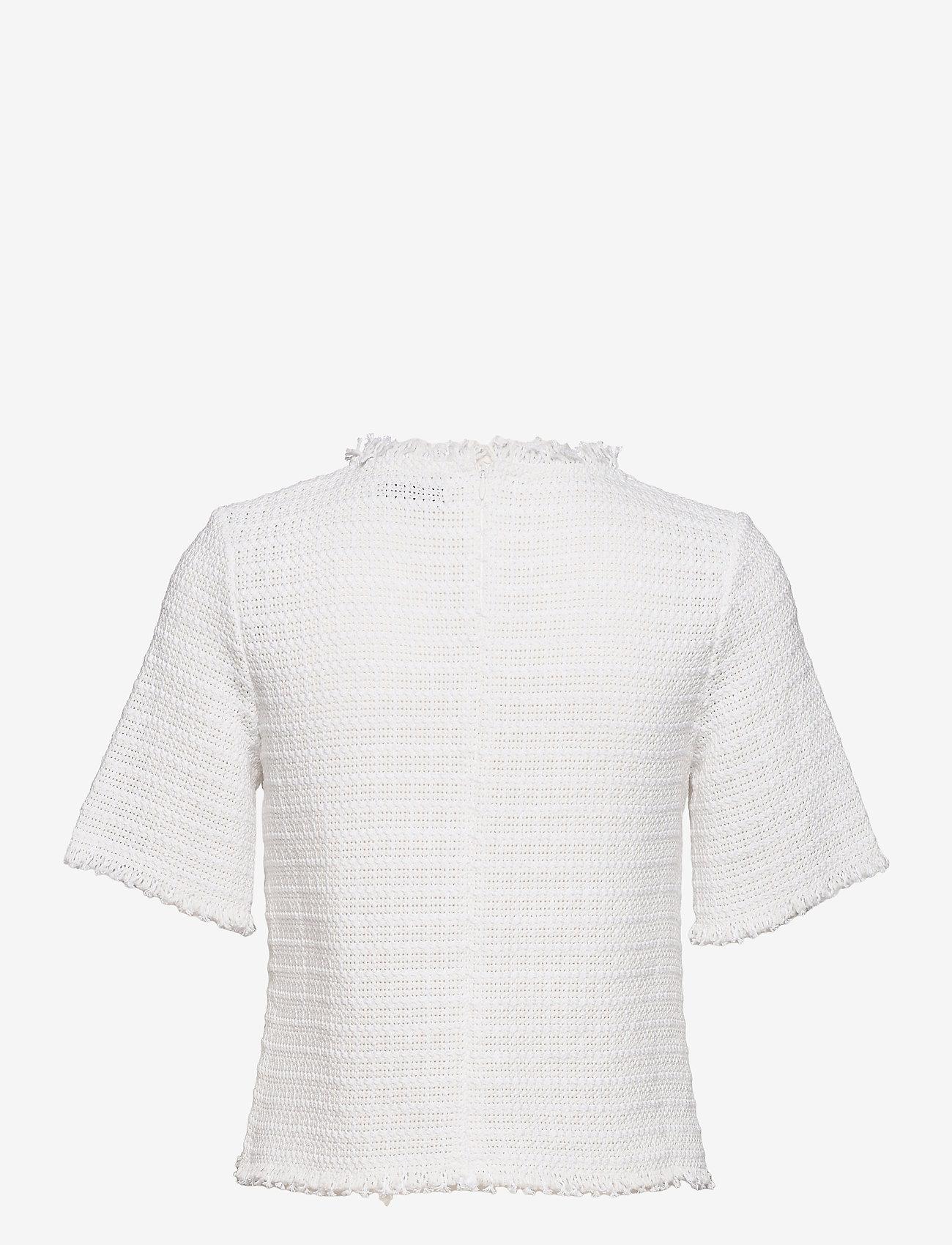 RODEBJER - RODEBJER YURDANA - kortærmede bluser - white - 1