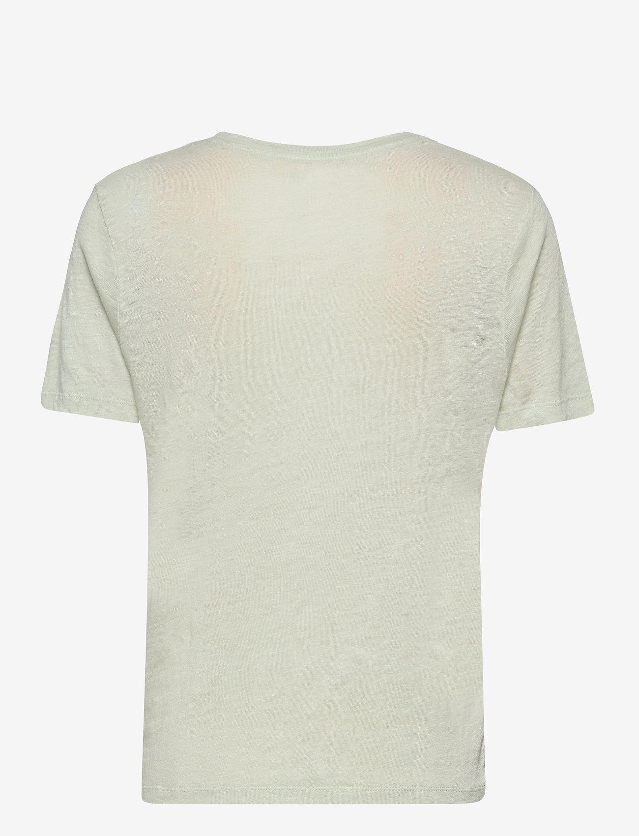 RODEBJER - Ninja Linen - t-shirts - clay verde - 1